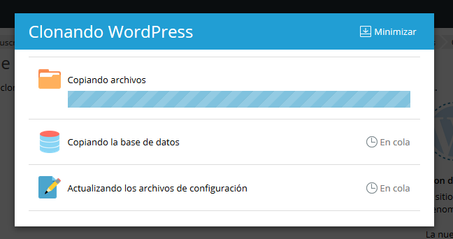 Sinconizando Wordpress